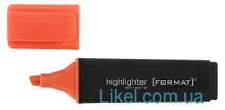 Маркер текстовый FORMAT, оранжевый