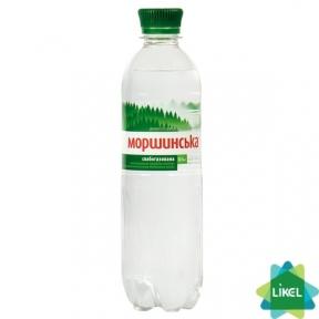 Минеральная вода Моршинская 0,5 л пластик сл/газ
