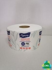 Туалетная бумага Jambo Papero 2-сл. цел.(12 рул/пак)