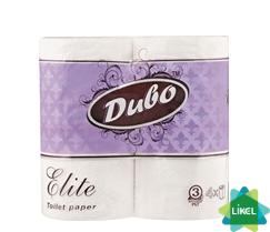 Туалетная бумага Диво ЭЛИТ трехслойная (4 рул/уп)