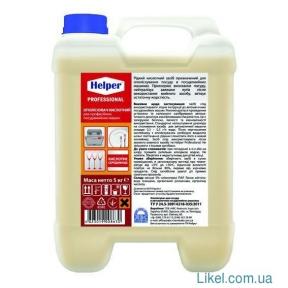 Ополаскиватель кислотный для профессиональных посудомоечных машин HELPER Professional 5л