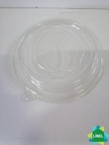 Крышка полипропиленовая для контейнера бумажн.салату 550 мл. КРАФТ (50/600)