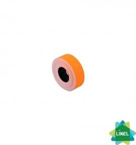 Этикетки-ценники Economix 21х12мм оранжевые 1000шт/рул