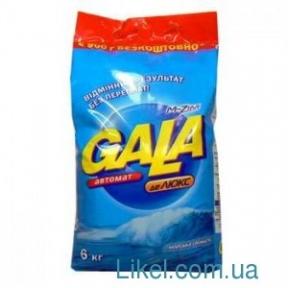 Порошок стиральный Gala автомат 6кг в ассортименте