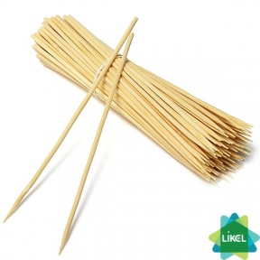 Палочки для шашлыка бамбук 20 см 100шт.