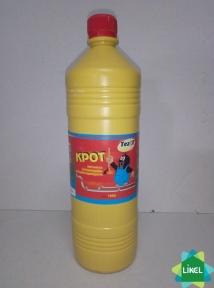 Засіб д/прочищення труб КРОТ 1100 г (12 шт/ящ)
