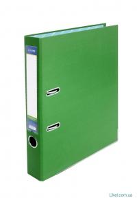 Папка-регистратор зеленая А4 ECONOMIX , 70 мм, зеленая