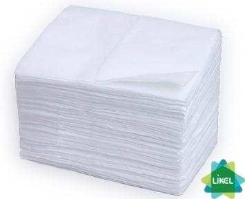 Салфетка для диспенсера белая ECO POINT 21 х 17 см 1500л