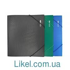 Папка пластиковая А4 на резинках ECONOMIX, фактурная