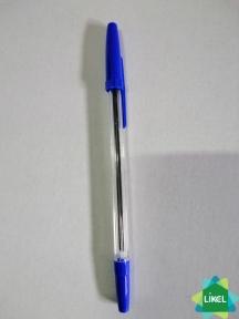Ручка шариковая Economix STANDARD синяя (50 шт.уп)