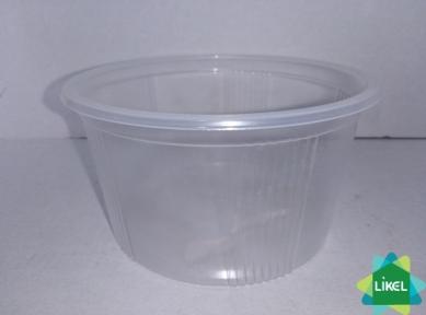 Ємність супова прозора дно 350 мл (1000 шт/ящ)