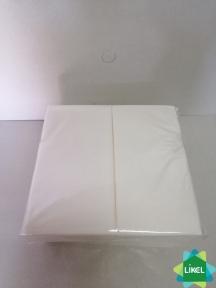 Серветка 33х33 2-х шарова біла 1/8 100 шт. Каштан (28 пач/ящ)