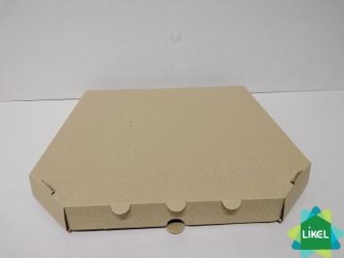 Коробка для пиццы d=30см 300х30х30 бурая