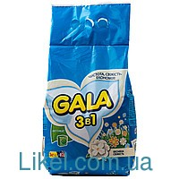 Порошок стиральный Gala автомат 3кг в ассортименте