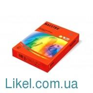 Бумага цвет.  интенсив А4/80/500 М СО44 коралово-красный
