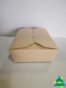 Универсальный контейнер КРАФТ для еды на вынос 168 * 132 * 53 (900 мл) (120/240)