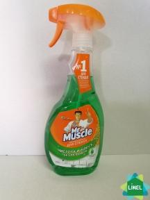 Средство для мытья стекол Мистер Мускул с распылителем 500мл