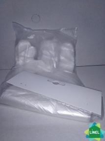 Рукавички PE одноразові, розмір M,L на картонці (100 шт.)