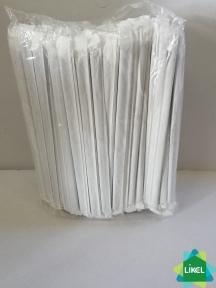 Трубочки Гофра в инд. упак. (4,8 мм) ЧЕРНАЯ 21 см (200 шт.) (30 уп\ящ)