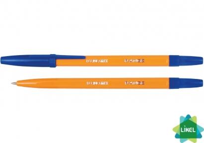 Ручка шариковая Economix RANGE синяя (50 шт.уп)