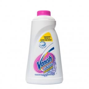 Пятновыводитель и отбеливатель жидкий для белого Vanish 1л