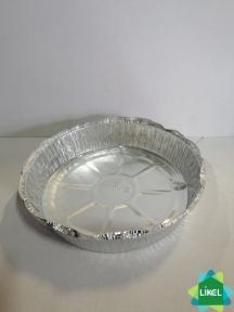 SPT62L Контейнер з харч. алюм. фольги круглий 1450 мл (230*198*43 мм) (100 шт.)
