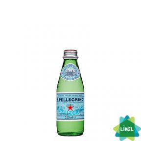 Минеральная вода San Pellegrino 0,25 л стекло газ
