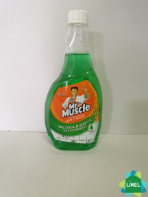 Средство для мытья стекол Мистер Мускул запаска 500мл