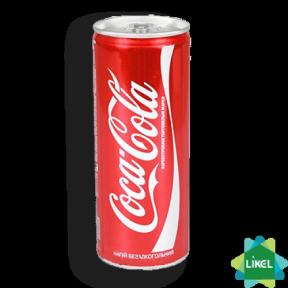 Coca-Cola 0,33 ж/б