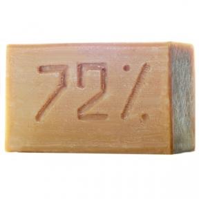 Мыло хозяйственное 72% коричневое 200 г