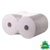 Полотенца бумажные целлюлозные однослойные 150м (2шт/уп)