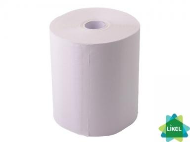Полотенца бумажные целлюлозные однослойные 100м (6шт/уп)