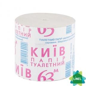 Туалетная бумага Киев-63 серая (8рул/уп)